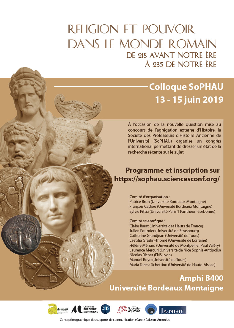 AFFICHE COLLOQUE SOPHAU